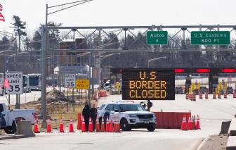 Canada và Mỹ gia hạn giới hạn biên giới để chống dịch COVID-19