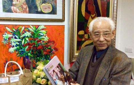 Họa sĩ Trần Khánh Chương - nguyên Chủ tịch Hội Mỹ thuật Việt Nam qua đời