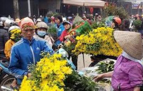4 người tại chợ hoa Mê Linh dương tính với virus SARS-CoV-2 qua xét nghiệm nhanh