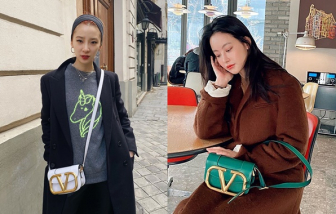 Mẫu túi mùa hè hơn 50 triệu đồng được lòng mỹ nhân Hàn