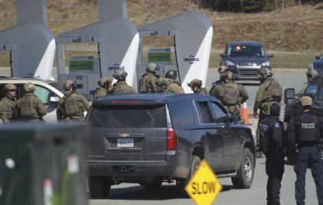 Xả súng điên cuồng ở Canada, ít nhất 16 người thiệt mạng