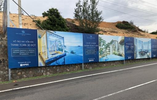 Cấm mua bán, chuyển nhượng căn hộ ở dự án Apec Mandala Wyndham Mũi Né