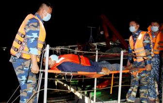 Cứu nạn thành công 6 ngư dân bị nạn trên vùng biển Tây Nam