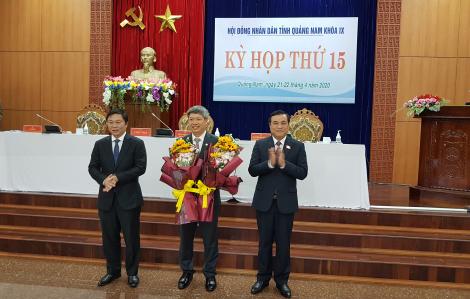 Chủ tịch huyện Nam Trà My được bầu giữ chức Phó chủ tịch tỉnh Quảng Nam