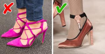Đã đến lúc nói tạm biệt với 10 kiểu giày bạn đang có trong tủ
