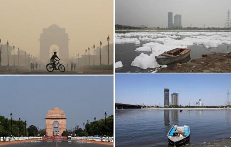 Ô nhiễm môi trường giảm thiểu trong dịch COVID-19