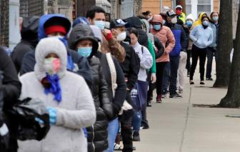 COVID-19 ngày 23/4: Hơn 840 ngàn ca nhiễm SARS-CoV-2 tại Mỹ