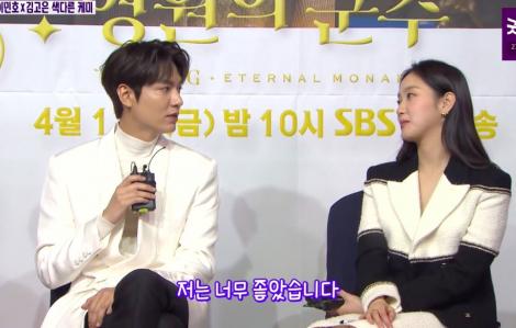 """Lee Min Ho hé lộ hậu trường thú vị trong """"Quân vương bất diệt"""""""
