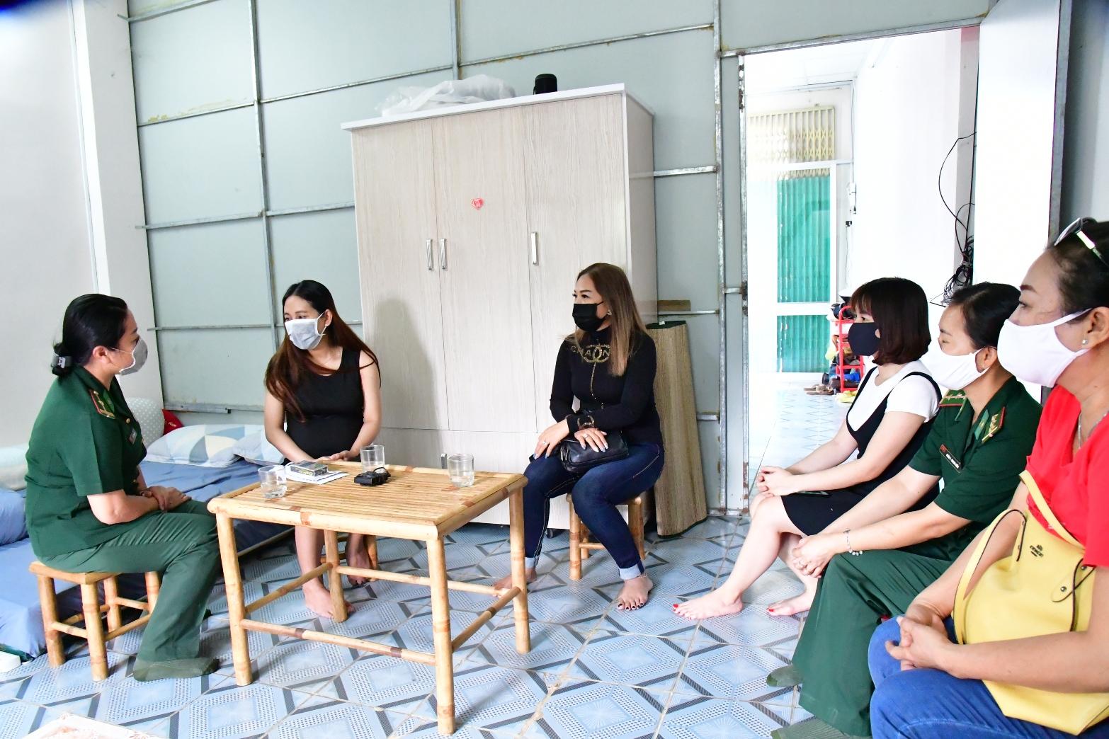 Chi hội Phụ nữ BĐBP Tây Ninh luôn là điểm tựa ấm áp cho những người vợ lính sắp vượt cạn