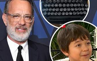 "Cậu bé Corona ""cầu cứu"" diễn viên Tom Hanks"