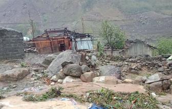 Lai Châu: Người chết và mất tích, hàng nghìn mái nhà vỡ tan tành vì mưa đá