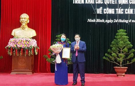 Chủ tịch Hội LHPN Việt Nam Nguyễn Thị Thu Hà được phân công giữ chức Bí thư Tỉnh ủy Ninh Bình
