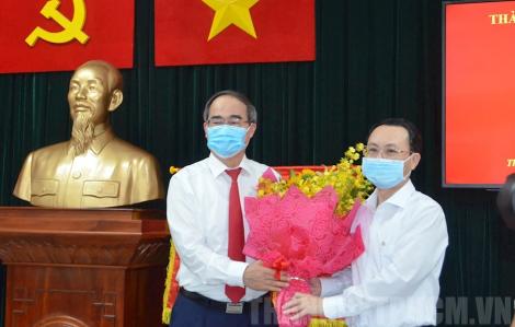 Ông Nguyễn Văn Hiếu giữ chức Bí thư Quận ủy quận 5