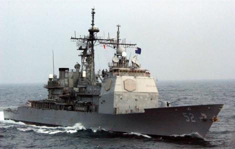 """Tàu chiến Mỹ, Úc """"so kè"""" cùng tàu Trung Quốc ở Biển Đông"""