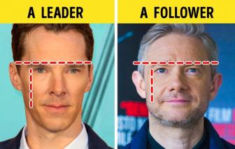 Các đường nét trên gương mặt nói gì về con người bạn?