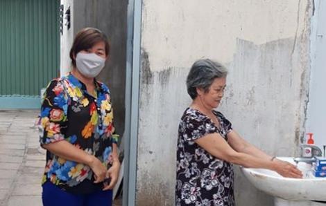 Huyện Nhà Bè đã có 7 bồn nước rửa tay công cộng