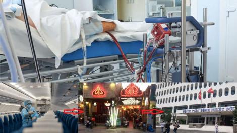 Phi công Vietnam Airlines mắc COVID-19 tiên lượng nặng, phổi trái bị đông đặc 1/2 dưới