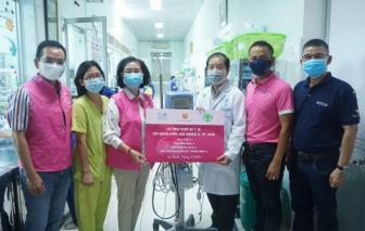Nu Skin Việt Nam trao tặng thiết bị và khẩu trang y tế trị giá 2,5 tỷ đồng cho Bệnh viện Nhi Đồng 2