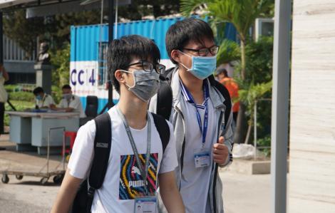 Ngày 4/5, học sinh TPHCM đi học trở lại