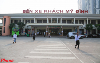 Hà Nội: Bến xe vắng khách trước ngày nghỉ lễ 30/4