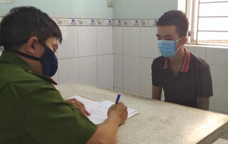 Tiểu thương chợ Bình Điền bị hai đối tượng dùng súng điện cướp hơn 120 triệu đồng