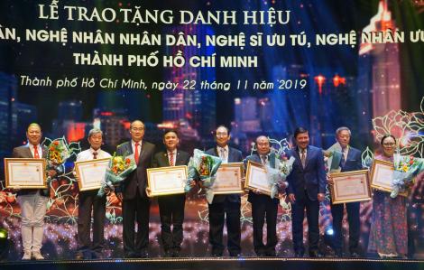 TPHCM triển khai xét tặng danh hiệu Nghệ nhân Nhân dân, Nghệ nhân Ưu tú lần III