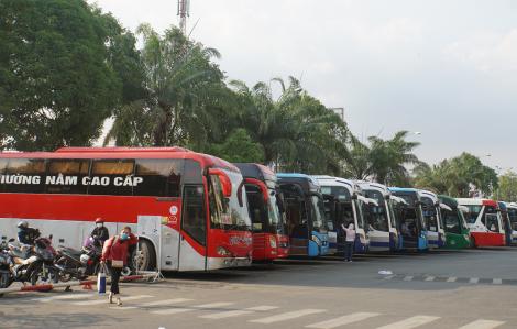 Xe khách được hoạt động lại từ 29/4, xe buýt có trợ giá tiếp tục chờ đến ngày 4/5
