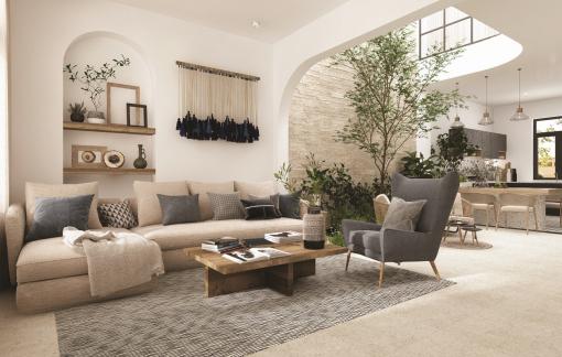 Đưa thiên nhiên vào nhà nhờ kiến trúc Địa Trung Hải