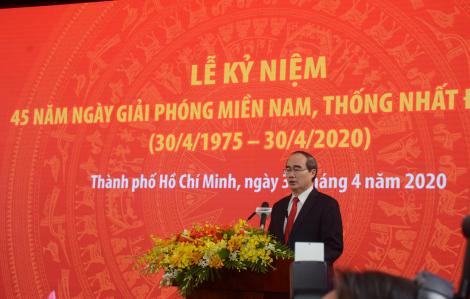 Bí thư Thành ủy TPHCM Nguyễn Thiện Nhân: Đại thắng mùa Xuân năm 1975 là một trang sử hào hùng