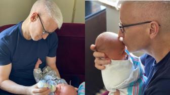 Nước mắt hạnh phúc của người cha đồng tính khi chào đón con trai đầu lòng ở tuổi 52