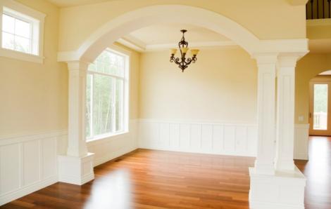 Ý tưởng cửa vòm cong cho ngôi nhà thêm ấn tượng