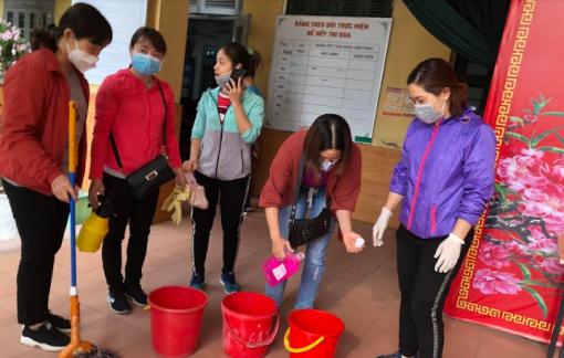 Hà Nội: Vệ sinh trường lớp đón học sinh đi học trở lại