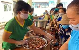 Từ ngày 2/5, bếp cơm nghĩa tình phường Bình Trưng Đông, quận 2 mở cửa trở lại