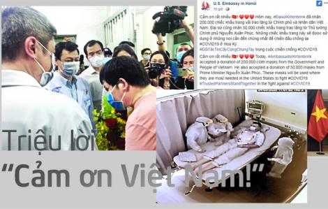 """Triệu lời """"Cảm ơn Việt Nam!"""""""