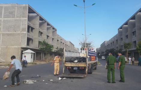 Đà Nẵng: Va chạm với xe tải, một du khách nước ngoài tử vong