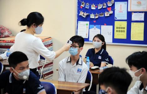 Hà Nội còn 3 trường chưa đi học lại, tiếp tục nghỉ phòng dịch