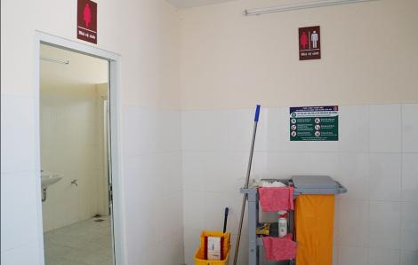 Virus gây bệnh COVID-19 tồn tại dưới dạng các hạt khí dung có trong nhà vệ sinh của bệnh viện