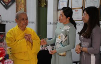 Hội LHPN TP.HCM cảm ơn các cơ sở Phật giáo chung tay vì người nghèo mùa Covid-19