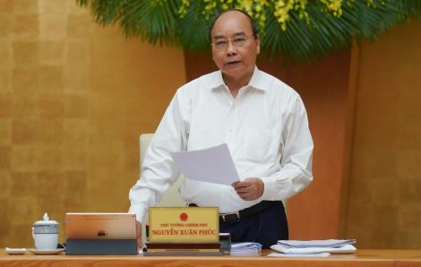 """Thủ tướng Nguyễn Xuân Phúc: """"Dịch bệnh đã cơ bản kiểm soát, phải sớm phục hồi phát triển kinh tế"""""""
