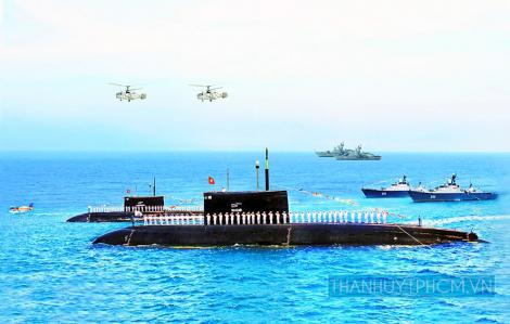 Hải quân Việt Nam làm chủ vũ khí kỹ thuật hiện đại