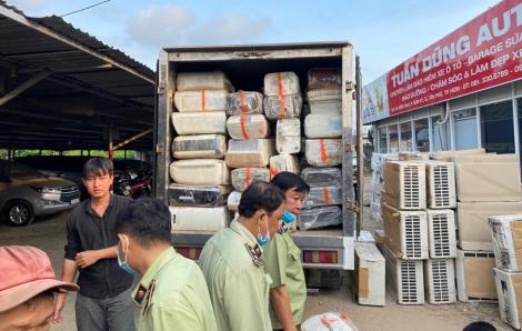 Lô hàng Nhật suýt tuồn lậu vào Việt Nam qua ngả Campuchia