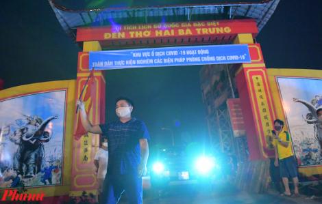 11.000 dân ở thôn Hạ Lôi được gỡ bỏ cách ly y tế