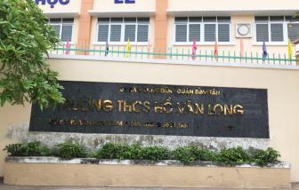 Trường THCS Hồ Văn Long (Q.Bình Tân, TP.HCM): Giáo viên tố hiệu trưởng không công khai tài chính