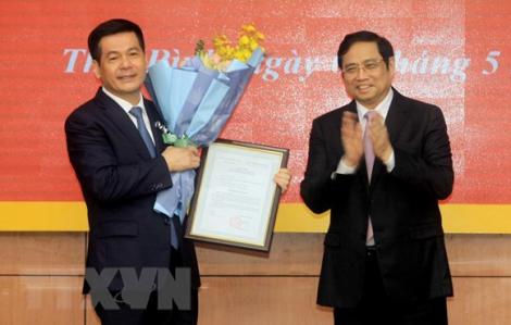 Bí thư Thái Bình giữ chức Phó trưởng Ban Tuyên giáo Trung ương