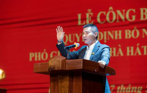NSND Công Lý được bổ nhiệm làm Phó giám đốc Nhà hát Kịch Hà Nội