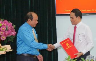 Đại tá Trần Thanh Trà giữ chức Phó trưởng Ban Nội chính Thành ủy TPHCM
