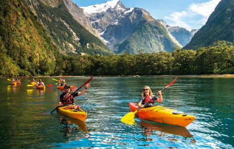 Những địa danh đáng đến tại New Zealand