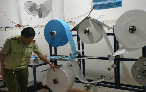 Công nghệ sản xuất khẩu trang cũ tìm cách tuồn về Việt Nam