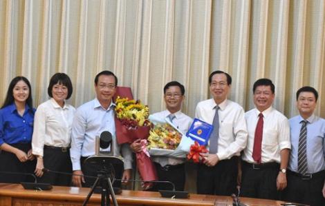 Chủ tịch UBND quận 8 nhận nhiệm vụ mới