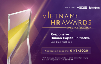 Vietnam HR Awards 2020 chính thức khai mạc với phiên bản đặc biệt nhiều thú vị